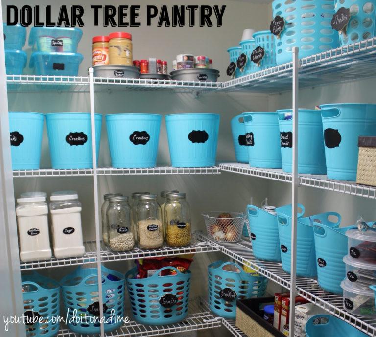 http://www.doitonadimeblog.com/2015/02/pantry-organization-dollar-tree-style/