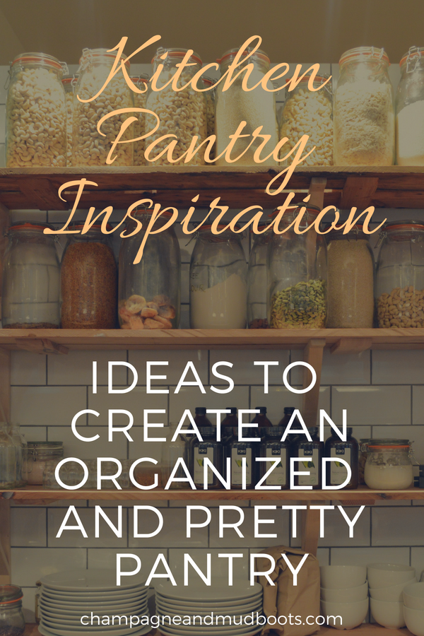 Kitchen pantry makeover ideas and storage solutions including DIY tips and projects that allow even small spaces to look beautiful and organized.