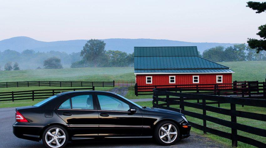 Homestead in the Suburban Rural Fringe