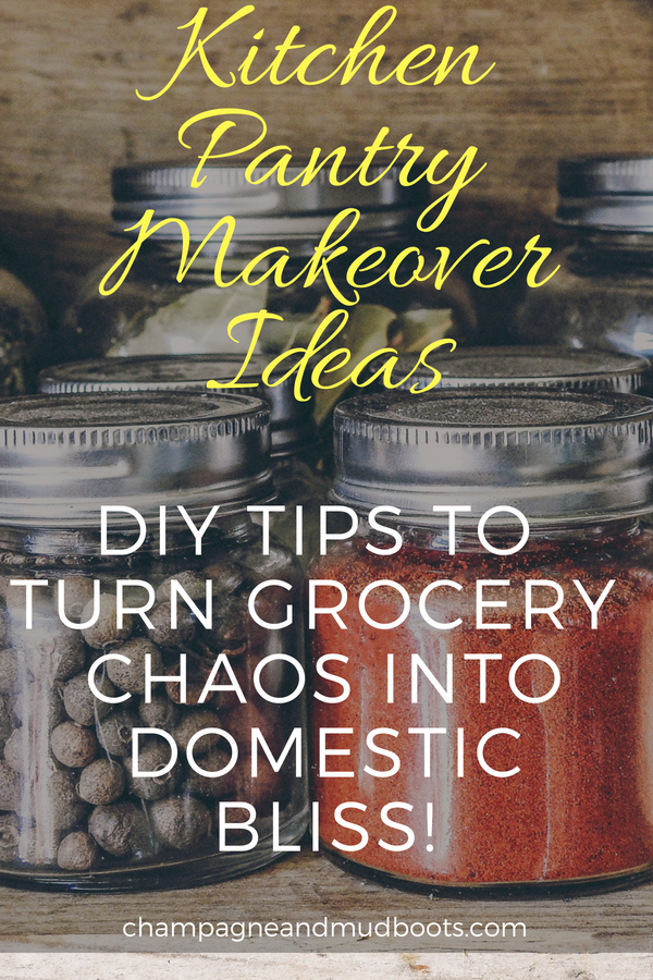 Organize even small pantries with these pantry makeover ideas and DIY tips.
