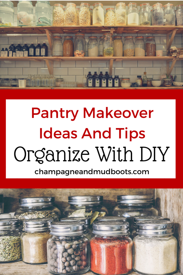 Use DIY tips and ideas to create an organized and beautiful pantry whether you have a large area to work with or a small pantry